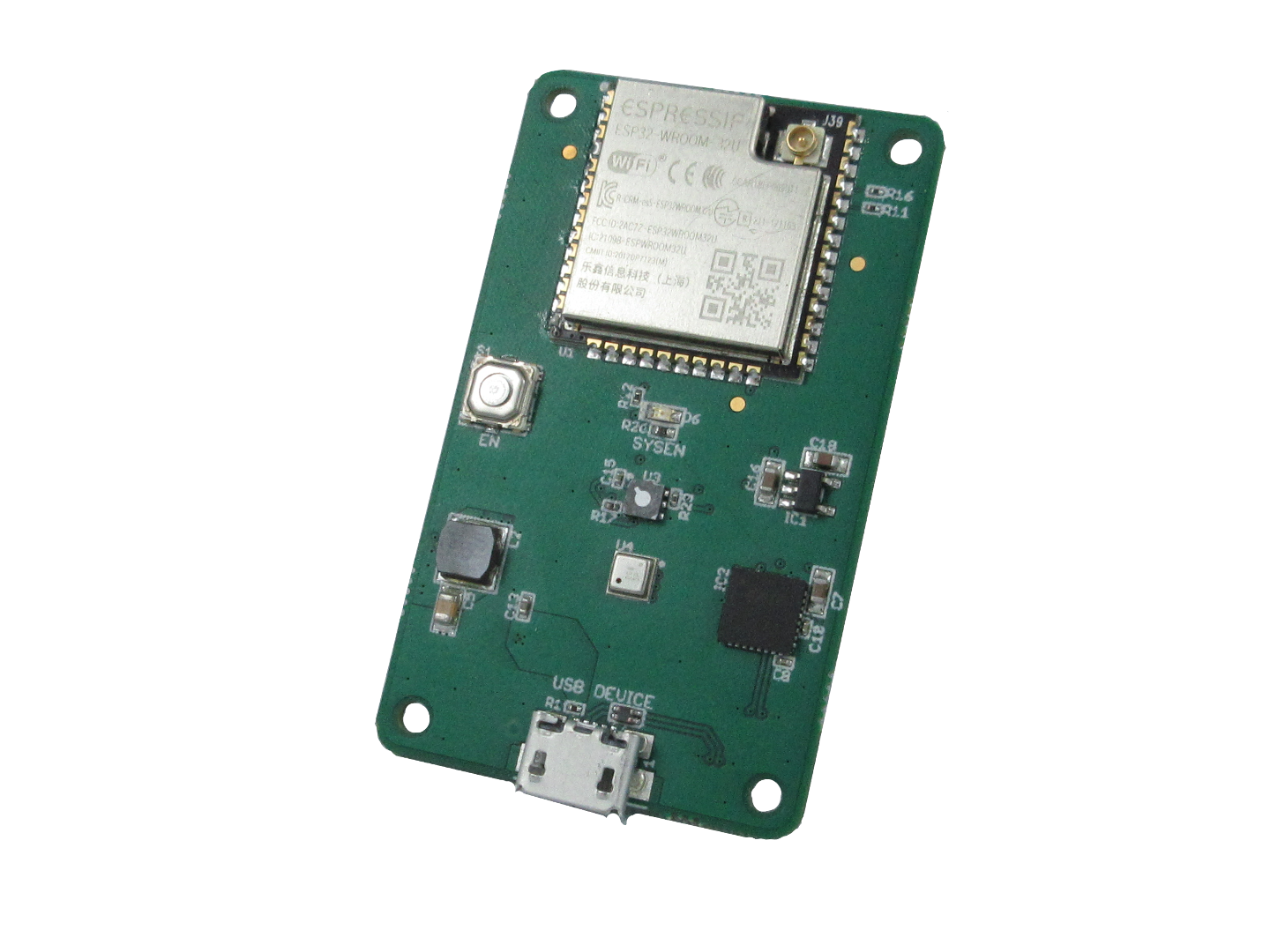 ESP32 Air Quality Sensor Board