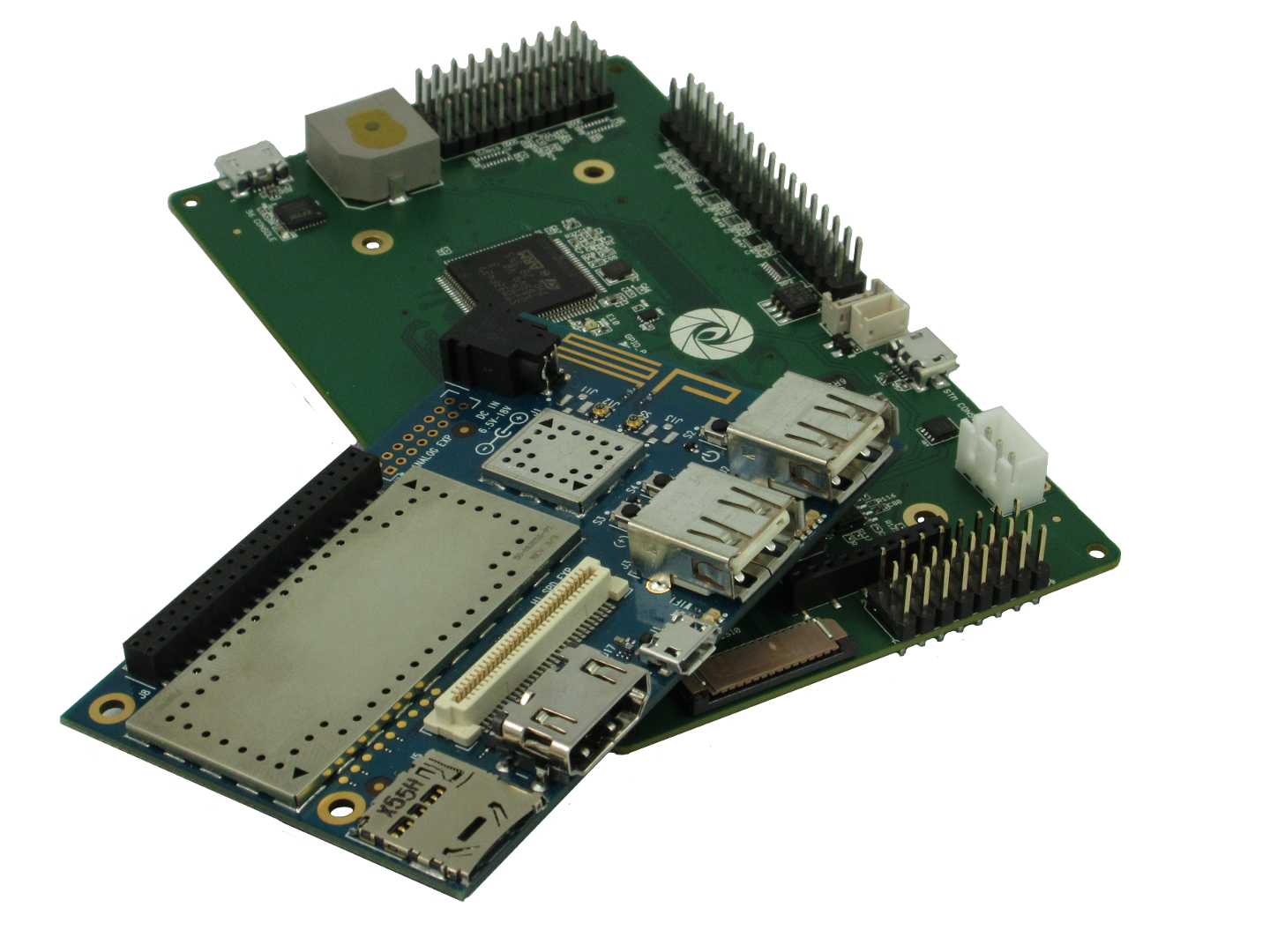 AeroCore 2 for DragonBoard 410C board featured in the drone video